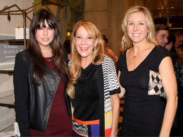 Katie Bivins, Mary Clare Finney, Bonnie Lance, Niven Morgan at Stanley Korshak