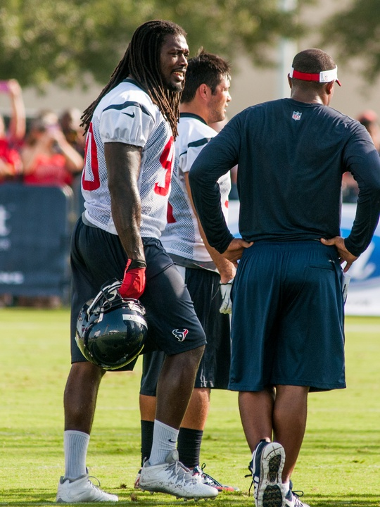 Jadeveon Clowney Texans camp