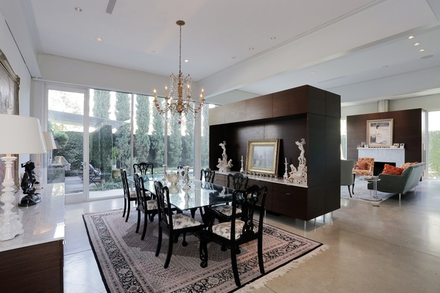 On the Market 2106 Crocker Fulton Davenport house August 2014 dining room to living room