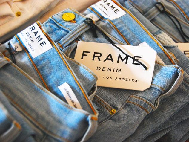 Baanou boutique July 2014 Frame denim jeans
