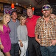 Liz Eklund, from left, Brian Ching, Debbie and Roger Clemens and Toby Keith Roger Clemens' Celebrity Slam Party July 2014