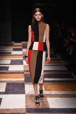 Salvatore Ferragamo fall 2015 collection