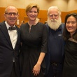 Private Reception Honoring James Turrell Hiram Butler; Andrée Bober; James & Kyung Turrel