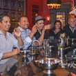 News, Shelby, Hublot party, The Marquis, May 2015 Manny Higuera, Travis Rucker, Dan Vazquez, and Erica and Doug Brown