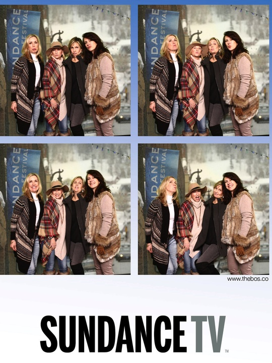 Dana Sneed, Kitty Strain, Susan Hanson and Nancy Ormand at Sundance Film Festival