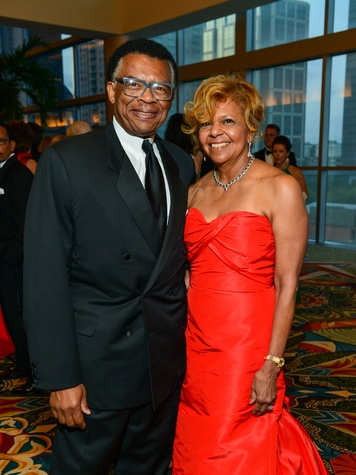 Rufus and Yvonne Cormier at the Memorial Hermann Gala April 2014