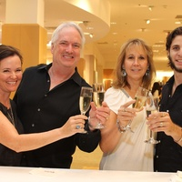 Fashion's Night Out, Neiman Marcus, September 2012, Caroline Tyson, Wade Wilson, Kim Jessup, Justin Garcia