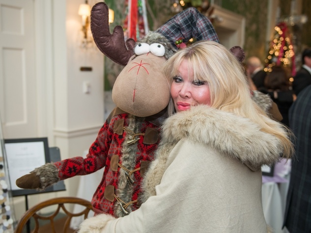 23 Lara Bell with the Nordic Moose at the Trees of Hope Gala November 2014