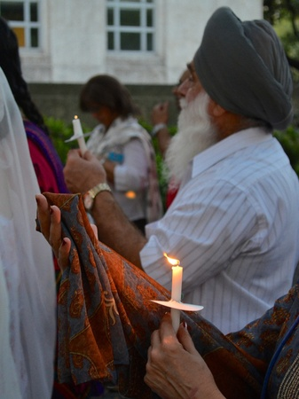 Ruchi, Wisconsin Sikh temple shooting, Houston City Hall, August 2012