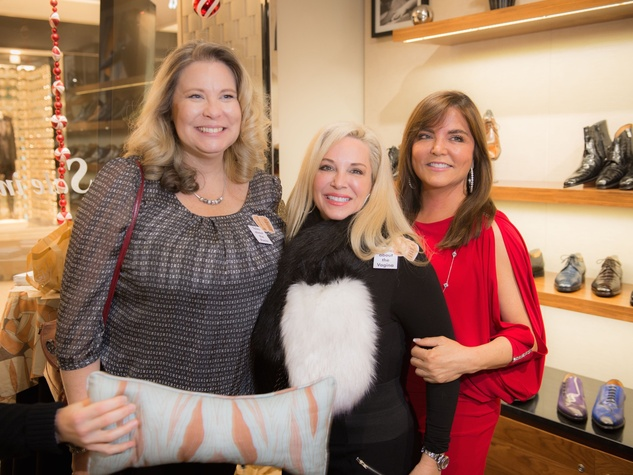 Cancer Below the Belt fundraiser, Dottie Bourassa, Dawn Herring Gunther, Beth Cassidy