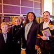 2 William Budge, from left,  Susan Budge, Jesus Moroles and Dan Allison at the Orange Show Gala November 2014