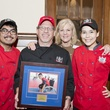 Bobby Jucker and Three Brothers Bakery team with Pat Sorrells at the Camp for All event September 2014