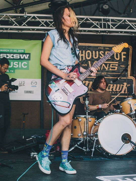 SXSW 2015 Shoes Speedy Ortiz