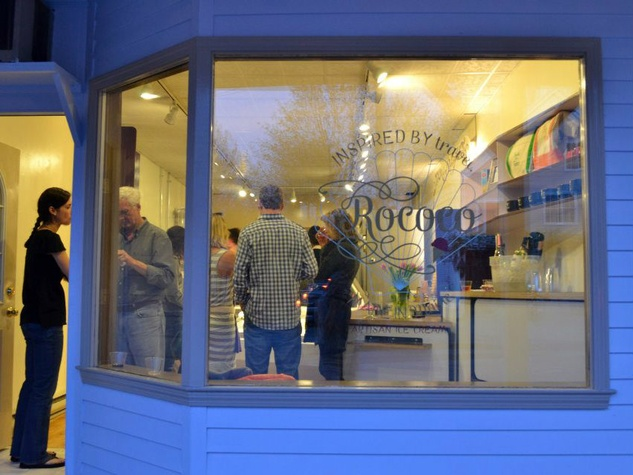 Rococo Artisan Ice Cream in Kennebunkport, Maine