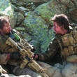 Emile Hirsch and Mark Wahlberg in Lone Survivor