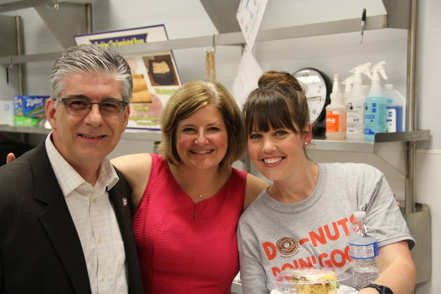 Houston, Kids Meals New Faciity Celebration, May 2015, Steve and Cristina Vetrano, Stacey Michel