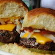 Liberty Kitchen & Oyster Bar and BRC Gastropub cheeseburger sliders