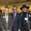 Mary Lawler, from left, Steve Kirkland, Peter Kelly and Jay Hamburger at Art on the Avenue November 2013