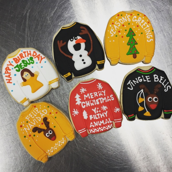 77da4efcab Ugly sweater cookies are must-eat holiday treats from Midtown bakery -  CultureMap Houston