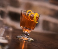 Sazerac at Barter restaurant in Dallas
