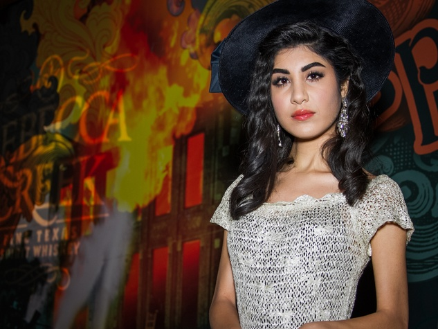 FashionXAustin Austin Fashion Week Kickoff 2015 at Speakeasy 1930s Look by Adriana Morfitt