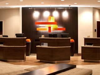 Courtyard Marriott downtown Austin lobby