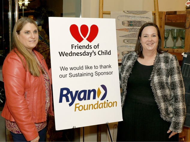 Cindy Pagel, Sharon McGowan, Executive Direct or, Friends of Wednesday's Child