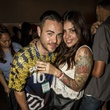 Alex Nava and Juliana Baladez at the MFAH Mixed Media Party June 2014
