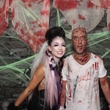 Jacy and Grant Cooper at the Brasserie 19 Halloween party October 2014