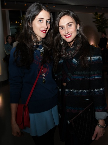 DANNIJO's Jodie Snyder and Danielle Snyder, NYC Lublu Event