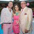 11 Ben Rose, fromleft, Laura Max Nelson and Dr. Franklin Rose at the Pink Party at Hotel ZaZa July 2014