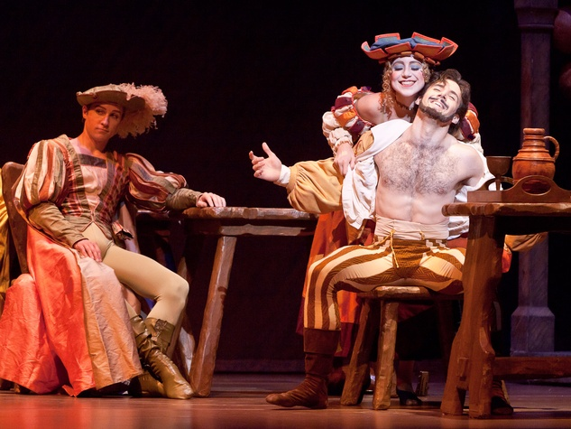 News_Houston Ballet_The Taming of the Shrew_Connor Walsh_Jessica Collado_Ian Cassady