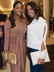 010_Fashion's Night Out, September 2012, Tiffany Johnson, Curlyncia Pradia