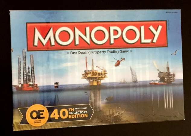 Houston, News, Marcy, OTC Monopoly Board