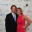 David Hilfman and Estelle Love at the Holly Rose Ribbon Foundation Day dinner September 2014