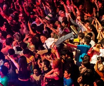 Red Bull event, Stereo Live, DJs, concert, December 2012, crowd, venue, concert