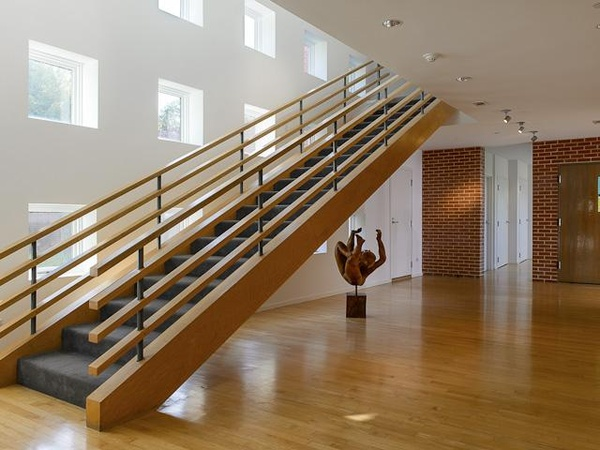 Staircase of 6730 Northaven Road in Dallas
