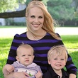 Kathleen Jennings with her sons, BeautyNow App