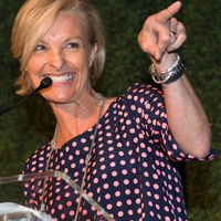 Dana Tyson at the In the Pink luncheon in The Woodlands October 2013