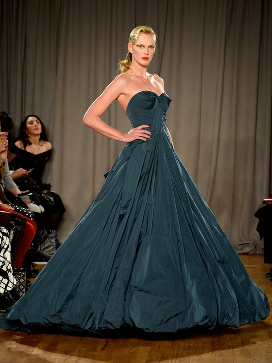 Zac Posen evening gown fall 2014 collection