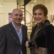 Nicola Parente and Raphaele at Art on the Avenue November 2013