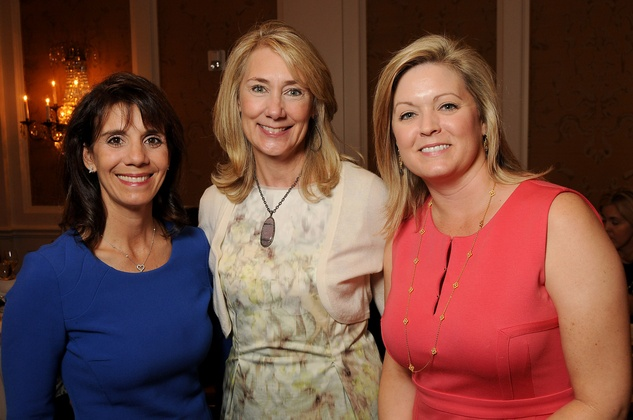 News, Shelby, Houston Botanic Garden Lunch, Sept. 2015, Shelley Barineau, Kelly Montgomery and Laura Heard