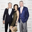 David Kratz, from left, Jessica Rossman and Gordon Bethune at the Tribeca Ball New York May 2014