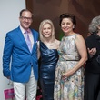 65 Beau Miller, from left, Frances Marzio and Beth Madison at the Blaffer Gala May 2014