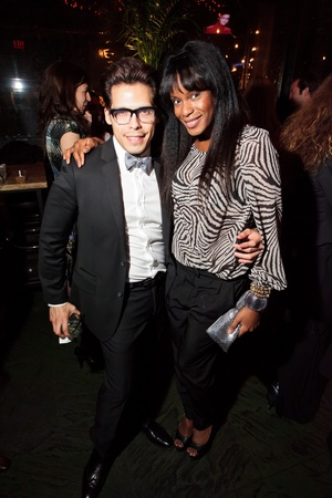 Fashion Houston wrap-up party at Hotel ZaZa, November 2012, David Arnondariz, Ndidi Ogah