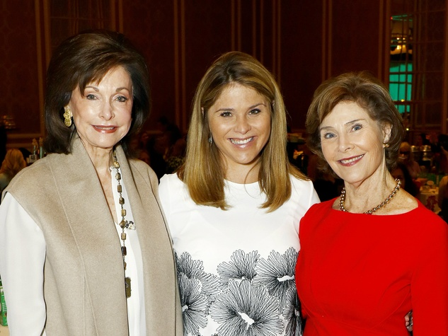 Gene Jones, Jenna Bush, Laura Bush