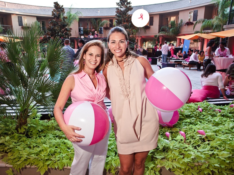 Back To Article The Thinking Was Pink For Pool Party At Hotel Zaza