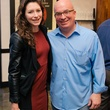 7 Cassie Kraft and John Sanders at the Artesa wine tasting at Cru March 2014