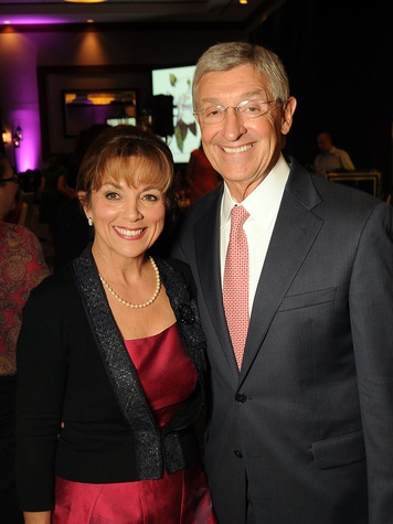 Robin and Jerry Mueck at the Memorial Hermann Razzle Dazzle Pink Luncheon October 2013