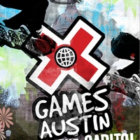 Austin X Games rally poster